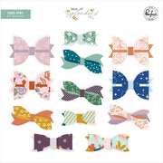 Pinkfresh - Days of Splendor Fabric Bows