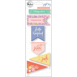 Pinkfresh - Everyday Musings Paper - Happy Place