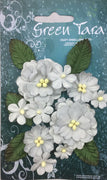 Green Tara - Pastel Flower & Leaf Pack - Grey