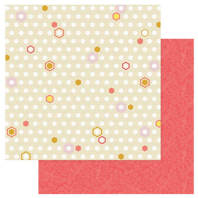Photo Play - Wild Honey Paper - Honeycomb