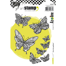Carabelle Studio Cling Stamp - Flight Of Butterflies
