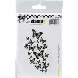 Carabelle Studio Cling Stamp - Fly Fly Fly Pretty Butterfly A7