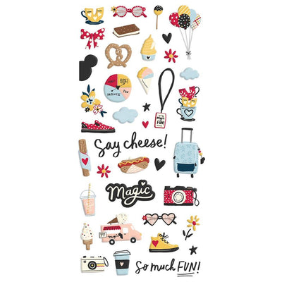 Simple Stories - Say Cheese Main Puffy Stickers 39/Pkg