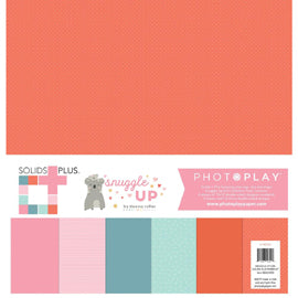 Photo Play - Snuggle Up Girl Solids Plus Paper Pack