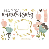 Simple Stories -  Simple Page Pieces - Anniversary