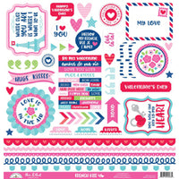 Doodlebug - French Kiss This & That Cardstock Stickers