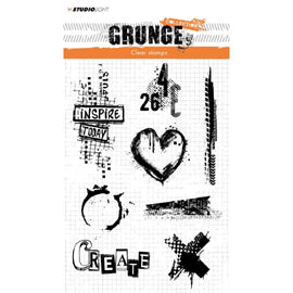 Studio Light Grunge 2.0 Collection A5 Stamp No. 363