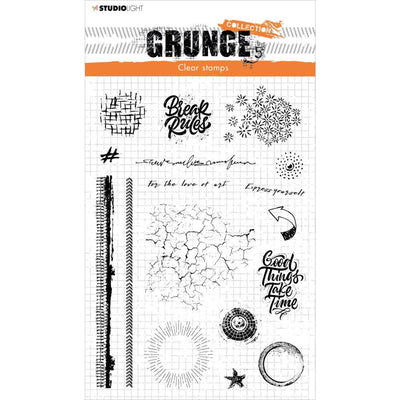 Studio Light Grunge Collection Stamp No. 502