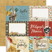Simple Stories - Simple Vintage Ancestry Paper - 4x6 Elements
