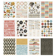 Simple Stories - Simple Vintage Ancestry Sticker Book