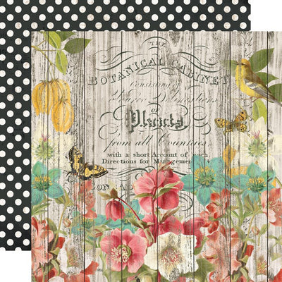 Simple Stories -  Simple Vintage Cottage Fields Paper - Natural Beauty