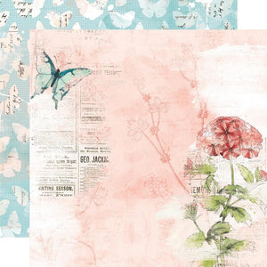 Simple Stories -  Simple Vintage Cottage Fields Paper - Dream More