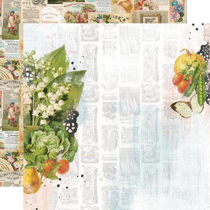 Simple Stories -  Simple Vintage Farmhouse Garden Paper - The Sweet Life