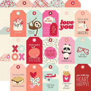 Simple Stories - Sweet Talk Paper - Tags