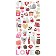 Simple Stories - Sweet Talk - Puffy Stickers