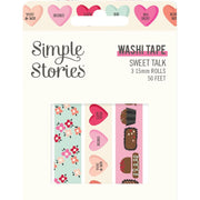 Simple Stories - Sweet Talk - Washi Tape 3pk