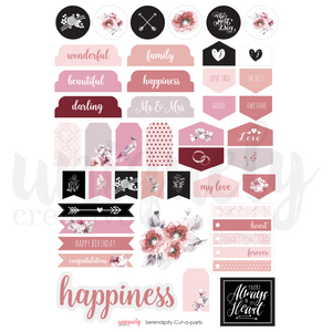 Uniquely Creative - Serendipity Cut-A-Part Sheet