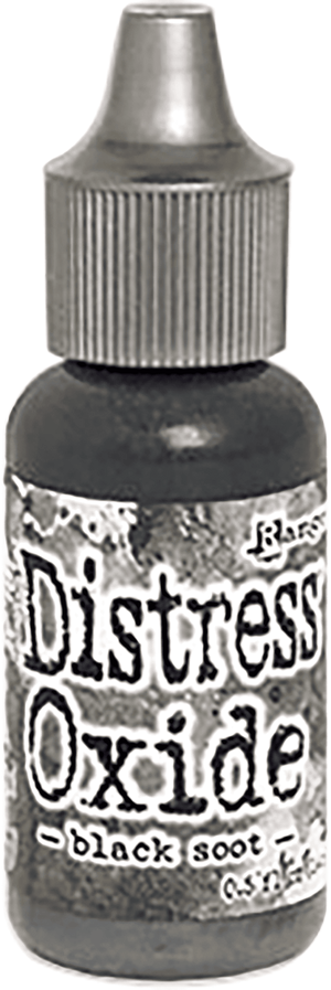 Tim Holtz - Distress Oxide Ink Pad - Black Soot Re-inker