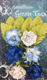 Green Tara - Tea Roses Pack - Bright Blue