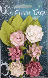 Green Tara - Tea Roses Pack - Pale Pink