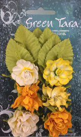 Green Tara - Tea Roses Pack - Yellow