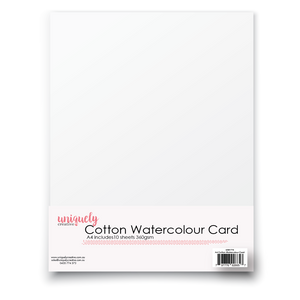 Uniquely Creative - A4 COTTON WATERCOLOUR CARD 360GSM