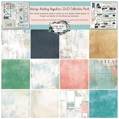 49 & Market - Vintage Artistry Anywhere Collection Pack 12x12