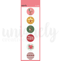 Uniquely Creative - Holly Jolly Christmas Flairs