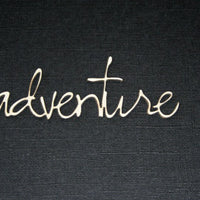 adventure - Loopy Font