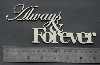 Always & Forever Title