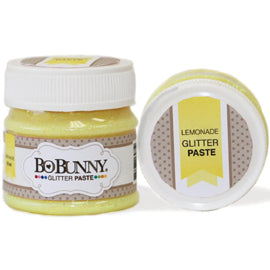 Bo Bunny Double Dot Glitter Paste - Lemonade