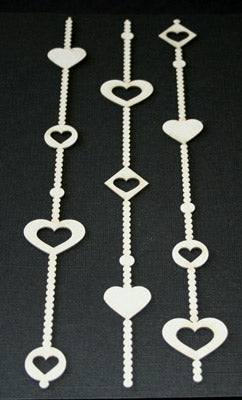 Beaded Heart Borders