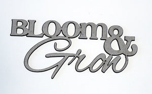 Bloom & Grown Mini Title