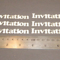 Card - Invitation