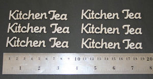 Card-Kitchen Tea Words