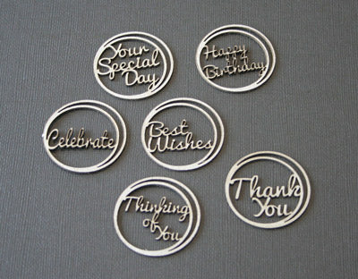 Card - Word Circle Set - Sentiments