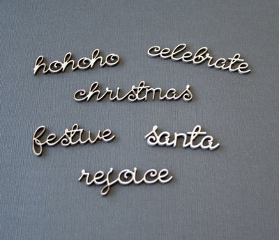 Christmas Mini Word Set 1