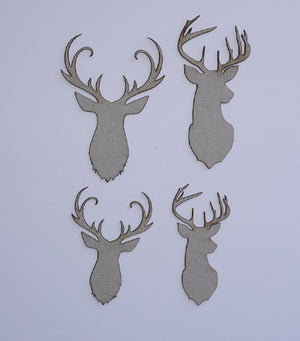 Deer Head Set
