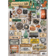 Studio Light - Industrial 3.0 Background Stamp 320