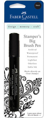 Faber-Castell Stamper's Big Brush Pen - Black