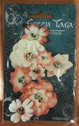 Green Tara - Fantasy Bloom Flower Pack - Peach/Cream