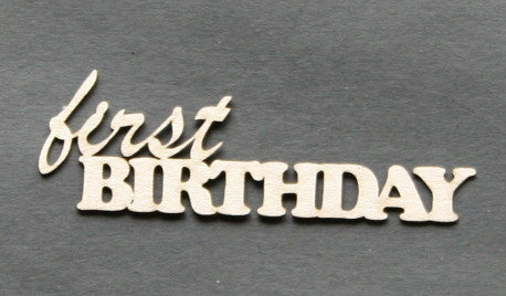 First Birthday Mini Title