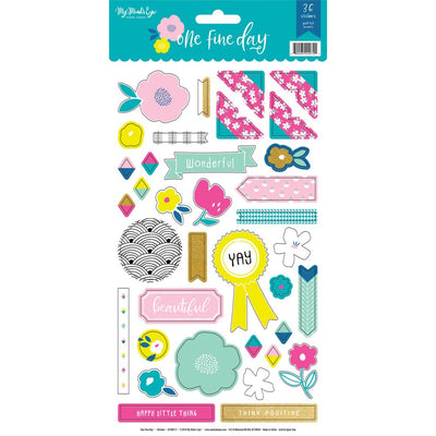 My Mind's Eye - One Fine Day Cardstock Stickers 6x12