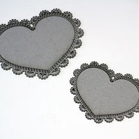 Frame Lace Hearts