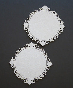 Frame Round Ornate