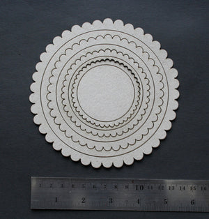 Frame Scallop Circle Borders