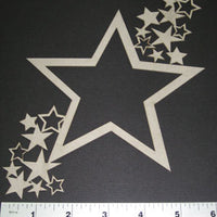 Frame Star with Stars