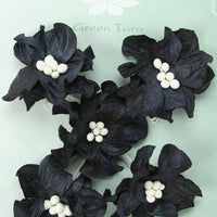 Green Tara - Apple Blossoms - Black