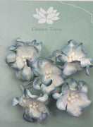 Green Tara - Apple Blossoms - White/Blue