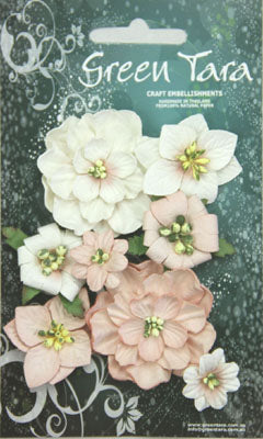 Green Tara - Fantasy Bloom Flower Pack - Beige
